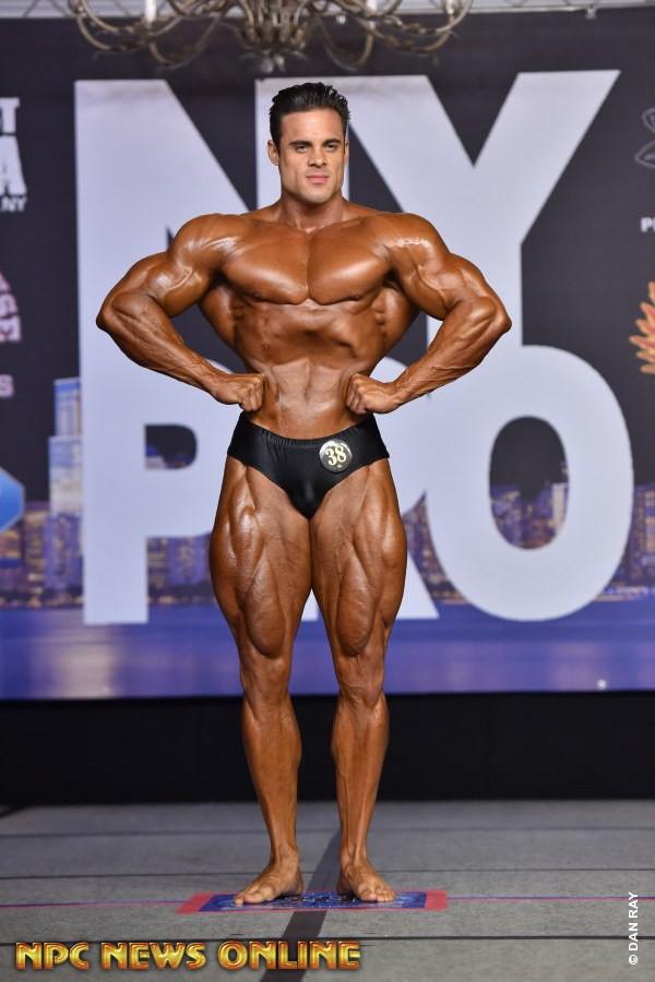 LOGAN FRANKLIN vince il new york pro ifbb 2020 nella categoria men's classic physique