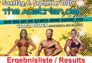 NPC Austrian Newcomer Championships 2020