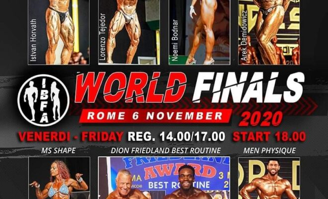world finals 2020 ibfa locandina