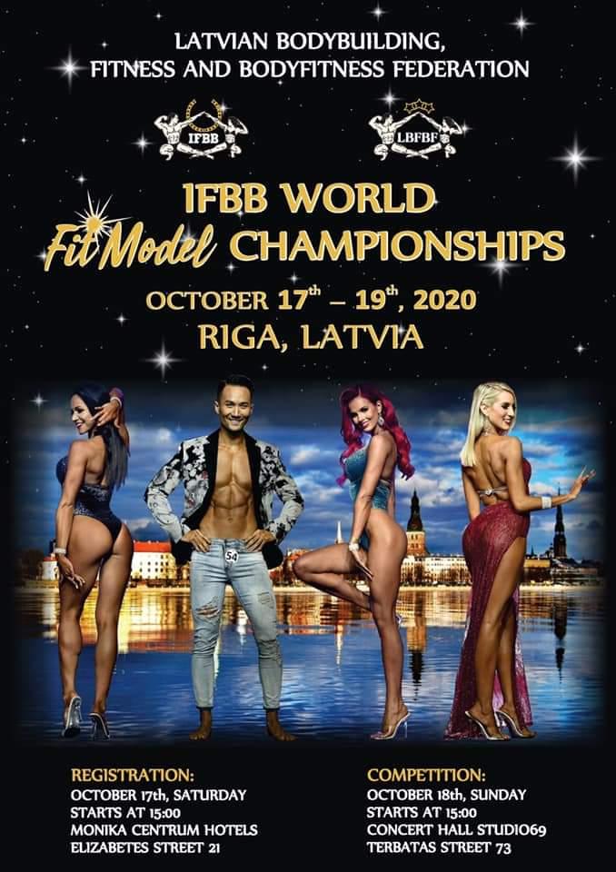 2020 ifbb world fit model championships