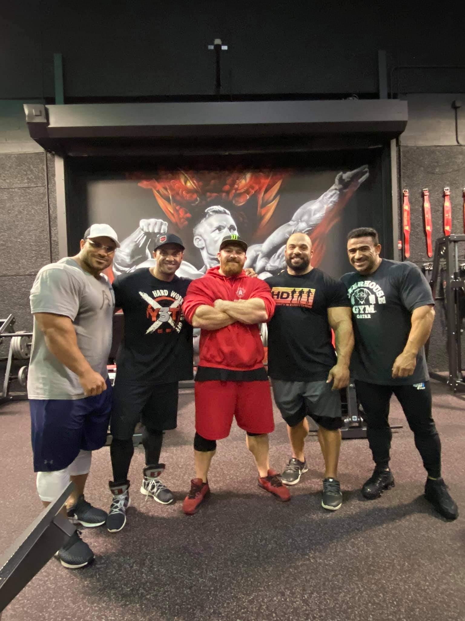 kamal elgargni e i ragazzi della Dragon's Gym