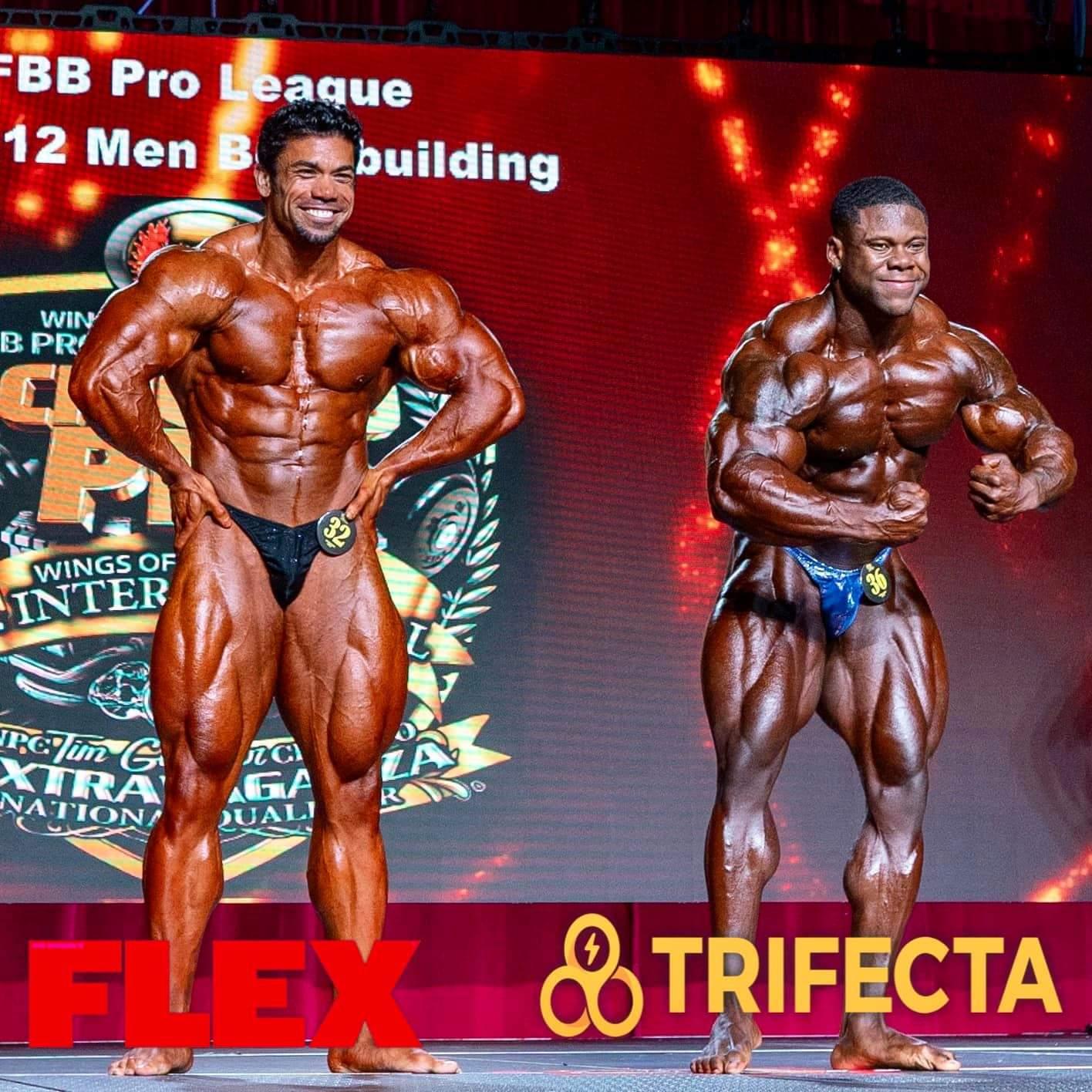 KEONE PEARSON VS AUSTIN KARR AL CHICAGO PRO IFBB 2020 posa di most muscular