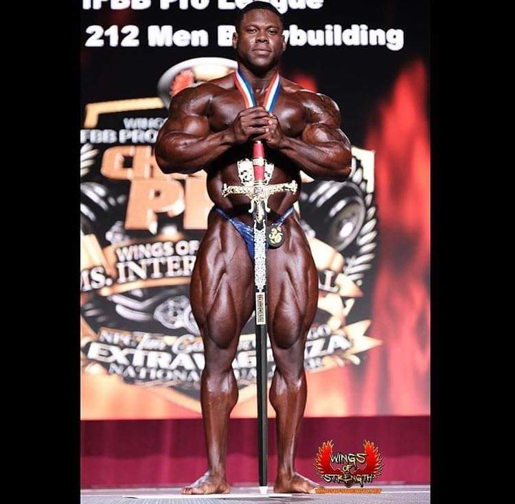 Keone Pearson IFBB pro vince il chicago pro ifbb 2020