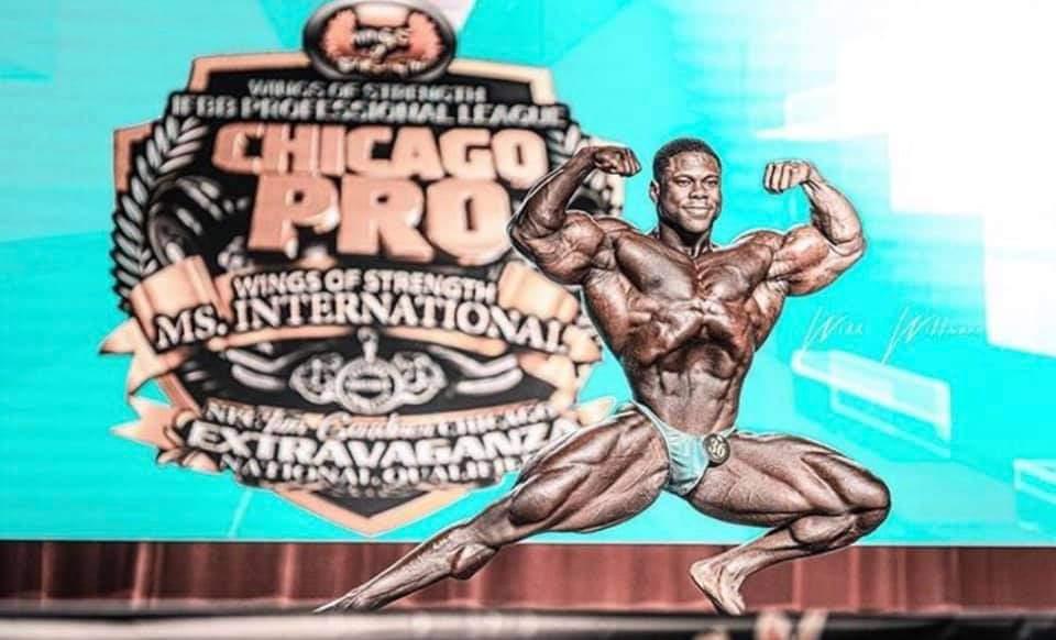 Keone Pearson vince il Chicago pro ifbb 2020