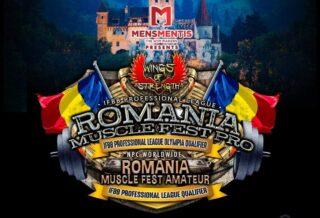 romania muscle fest 2020 locandina