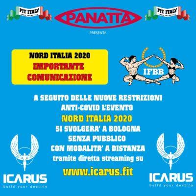 nord italia ifbb 2020 aggiornato 30 ottobre 2020