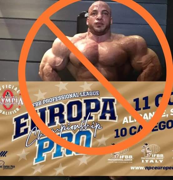 big rami is out from 2020 europa pro championship