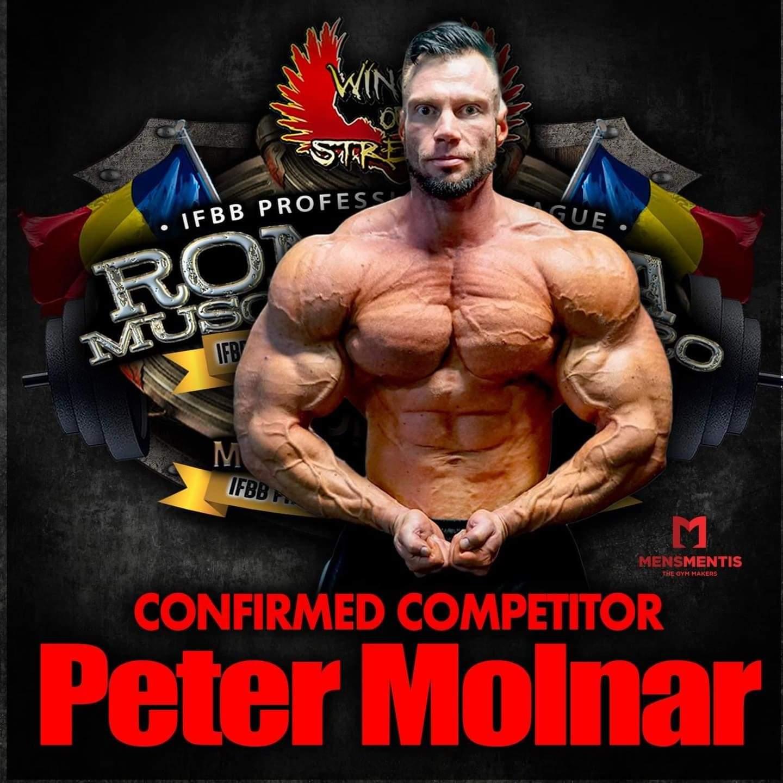 Peter monlar al Romania Muscle Fest 2020