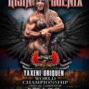 YAXENI ORIQUEN gareggerà al Rising Phoenix 2020