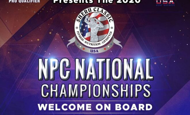npc nationals 2020 locandina