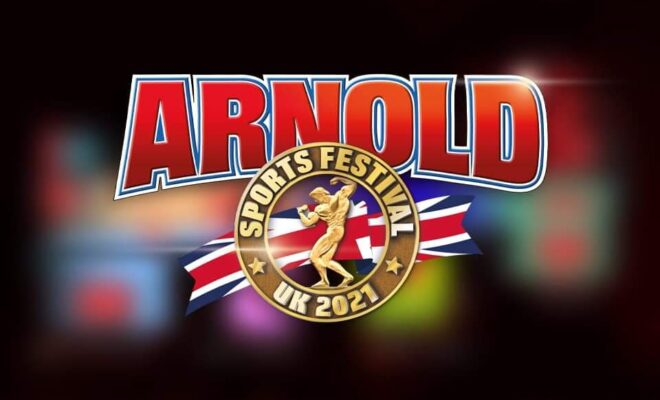 arnold classic uk 2021 locandina