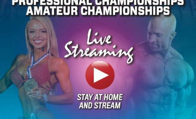 diretta streaming IFBB WORLD BODYBUILDING & FITNESS PROFESSIONAL CHAMPIONSHIPS AMATEUR CHAMPIONSHIPS