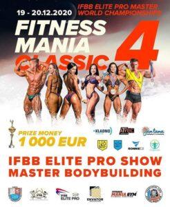 fitness mania classic 4 ifbb elite pro show master bodybuilding