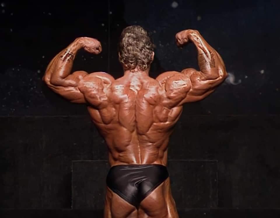 la schiena di dorian yates al mister olympia 1992