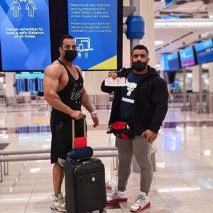 hadi choopan è in America per il mister olympia 2020