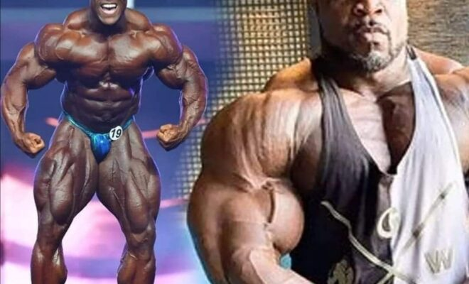 brandon curry VS Heath sul palco del mister olympia 2020