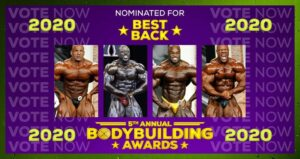 5TH ANNUAL BODYBUILDING AWARDS