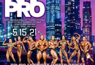 2021 New York PRO IFBB locandina