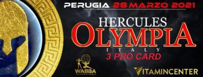HERCULES OLYMPIA ITALY 2021