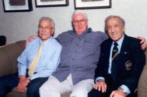 PETER MCGOUGH con Joe Weider e Ben Weider