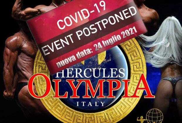 nuove date Hercules olympia 2021 wabba