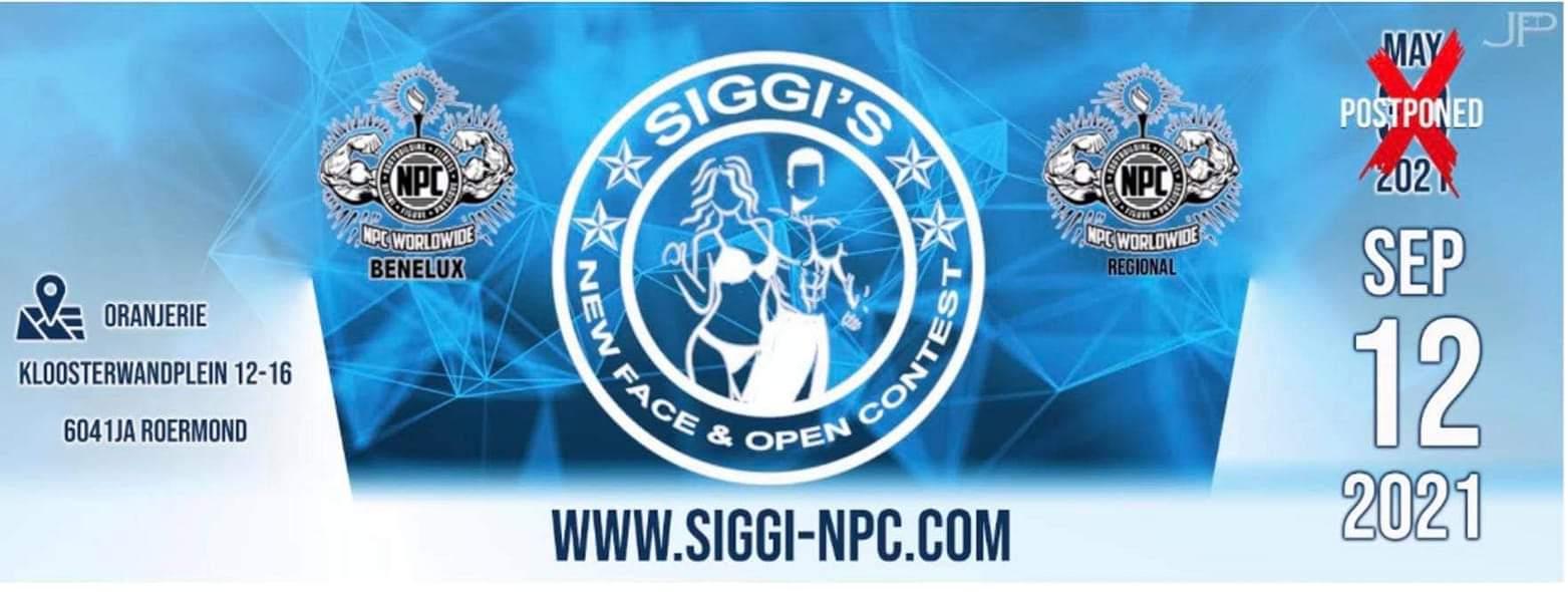 siggi's new face & open contest