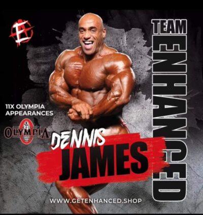 dennis james diventa un atleta del team enhanced