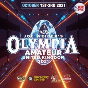olympia amateur uk 2021