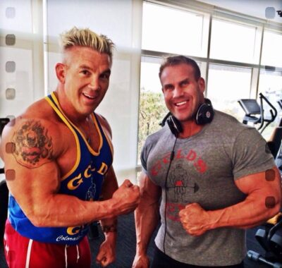 Andy Haman pro ifbb con il 4 volte mister olympia jay cutler
