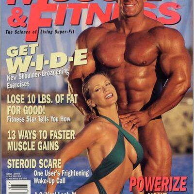 la prima cover di Jay Cutler nel 1996 sulla rivista Mucle & fitness