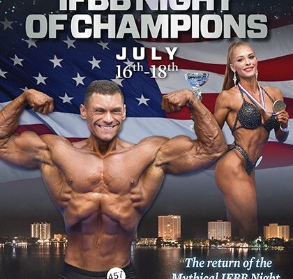locandina night of champions 2021 ifbb elite pro