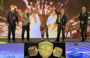 vincitore assoluto bodybuilding diamond cup egitto 2021