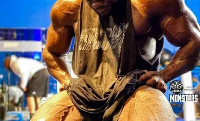 Blessing Awodibu del 27 aprile 2021 le gambe