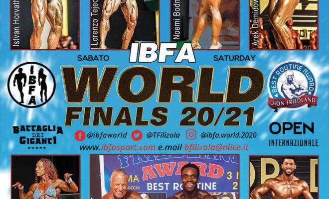 2021 ifba world finals 20/21