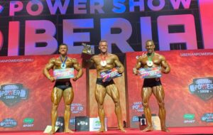 premiazione categoria men's classic physique al siberian power show 2021