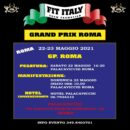GRAND PRIX ROMA 2021 IFBB