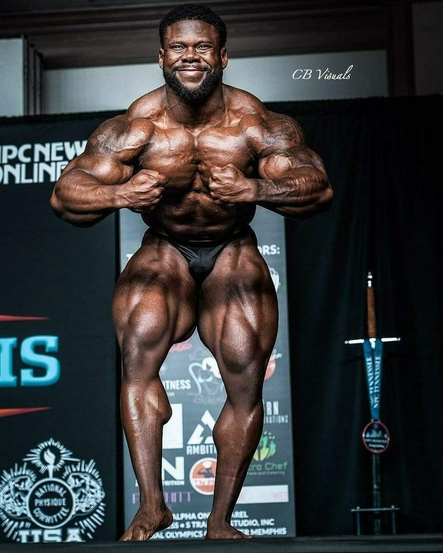 Keone Pearson IFBB pro guest posing aprile 2021