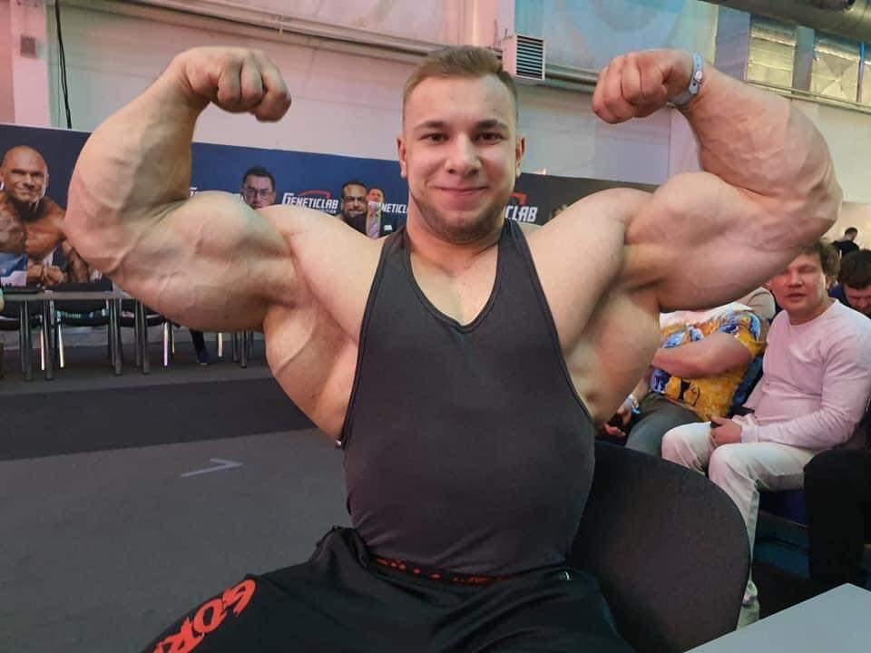 Vitaly Ugolnikov al siberian power show 2021
