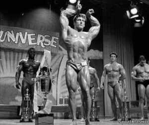 frank zane vince il mister universe IFBB 1968