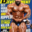 hadi choopan conquista la cover del numero di aprile 2021 della rivista muscular development