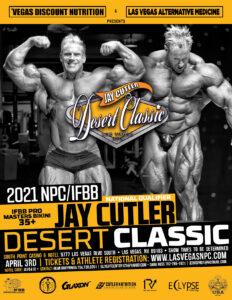 jay cutler desert classic 2021 NPC