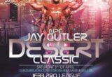 la locandina del Jay Cutler Desert Classic 2021 NPC
