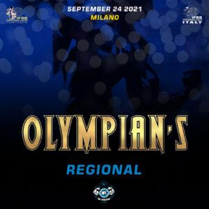 OLYMPIAN'S REGIONAL 2021