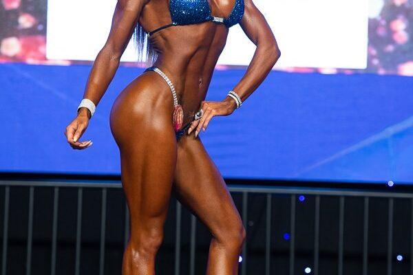 alessia facchin al 2021 Optimum Classic bikini pro ifbb