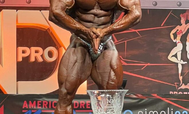 justin rodriguez pro ifbb vince l'indy pro ifbb 2021
