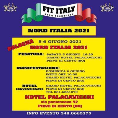 locandina NORD ITALIA IFBB 2021