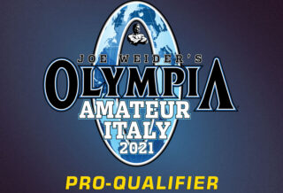 olympia amateur italy 2021 pro qualifier