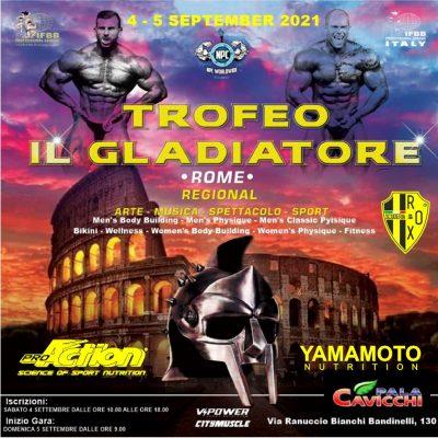 trofeo il gladiatore 2021 ifbb pro league italy