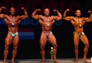 2021 IFBB ELITE PRO LUXEMBOURG bodybuilding master
