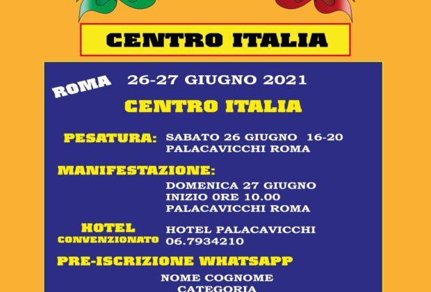 centro italia ifbb 2021